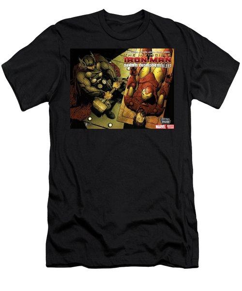 Invincible Iron Man Men's T-Shirt (Athletic Fit)