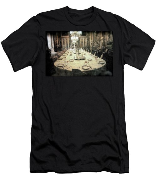 Invitation To Dinner At The Castle... Men's T-Shirt (Athletic Fit)