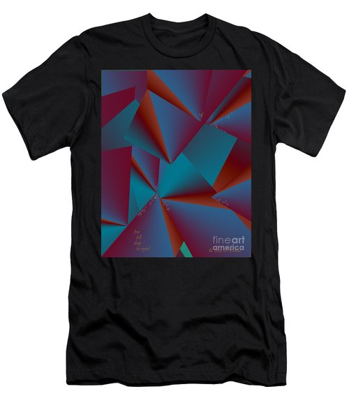 Inw_20a6146 Free Fall Drop To Crystal Men's T-Shirt (Athletic Fit)