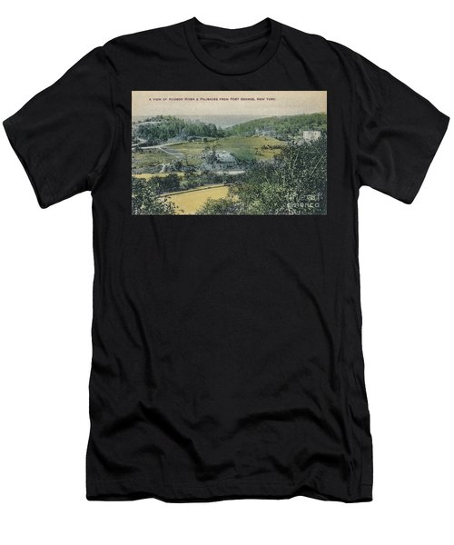 Inwood Postcard Men's T-Shirt (Athletic Fit)