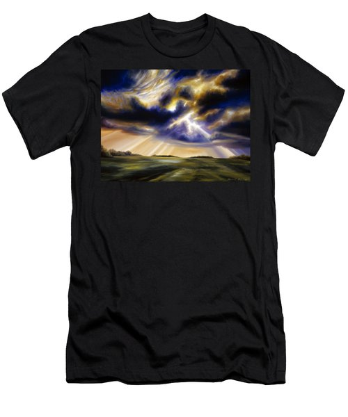 Iowa Storms Men's T-Shirt (Slim Fit) by James Christopher Hill