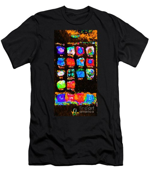Iphone In Abstract Men's T-Shirt (Athletic Fit)