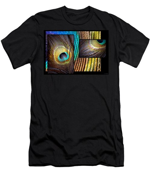 Iridescent Beauty Men's T-Shirt (Slim Fit) by Lauren Radke