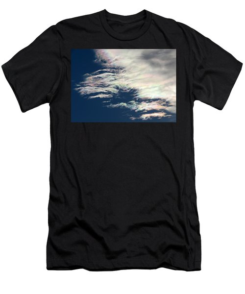 Iridescent Clouds 3 Men's T-Shirt (Athletic Fit)