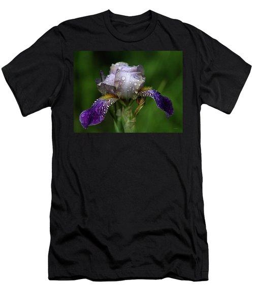 Iris After The Rain 1409 H_2 Men's T-Shirt (Athletic Fit)