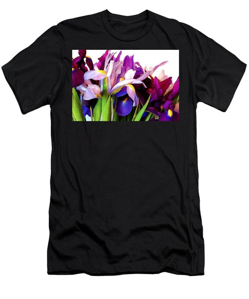 Iris Bouquet Men's T-Shirt (Athletic Fit)