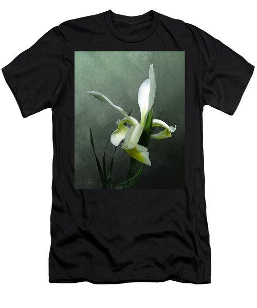Iris Celebration Men's T-Shirt (Slim Fit) by I\'ina Van Lawick