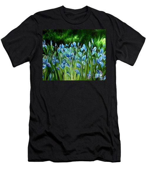 Iris Galore Men's T-Shirt (Athletic Fit)