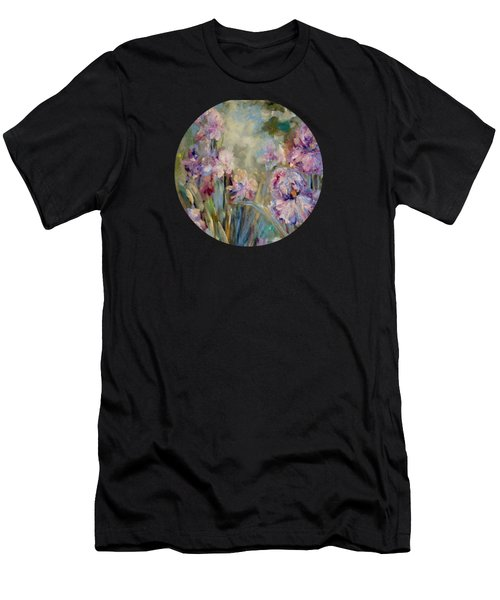 Iris Garden Men's T-Shirt (Athletic Fit)
