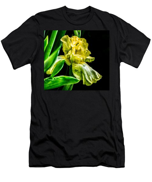 Iris In Bloom Men's T-Shirt (Athletic Fit)