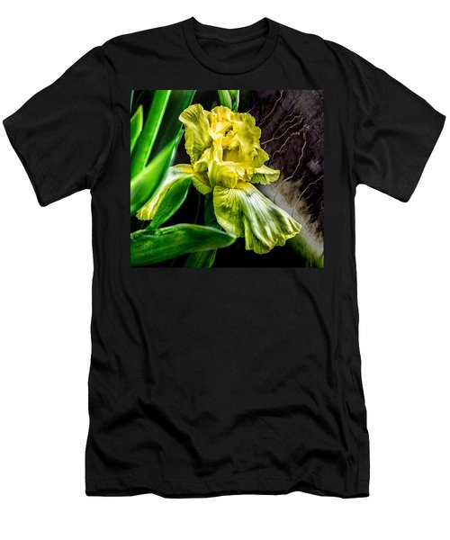 Iris In Bloom Two Men's T-Shirt (Athletic Fit)