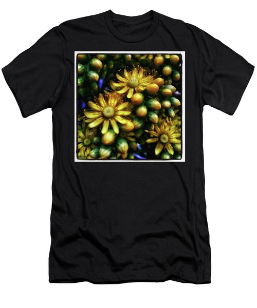 Men's T-Shirt (Athletic Fit) featuring the photograph Irish Rose. Also Known As Pinwheel by Mr Photojimsf