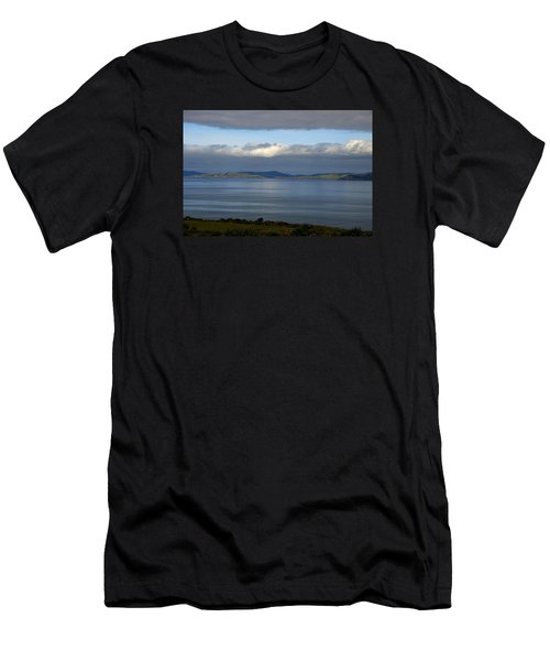 Irish Sky - Ring Of Kerry, Dingle Bay Men's T-Shirt (Athletic Fit)