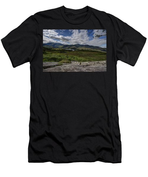 Irish Sky - Wicklow Mountains Men's T-Shirt (Athletic Fit)