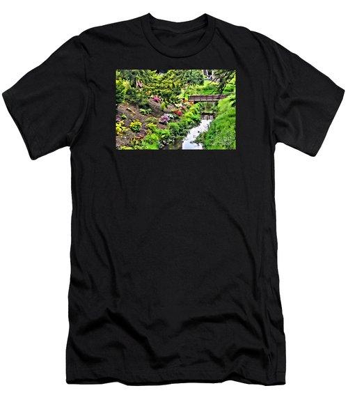 Irish Summer Stream Men's T-Shirt (Athletic Fit)