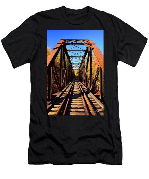 Iron Bridge Men's T-Shirt (Athletic Fit)