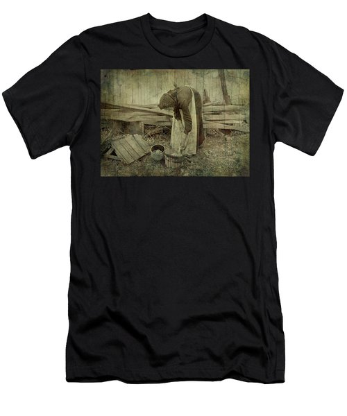 Is Never Done Men's T-Shirt (Athletic Fit)