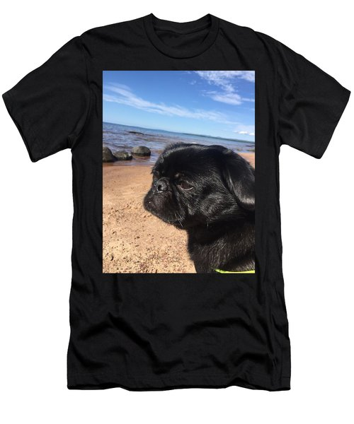 Is This My Good Side? Men's T-Shirt (Athletic Fit)