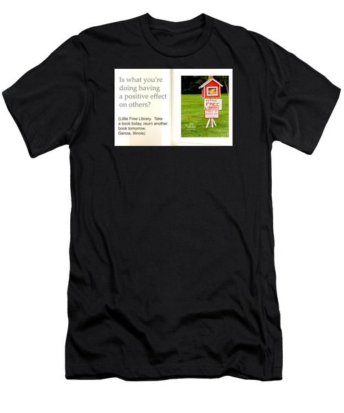 Men's T-Shirt (Athletic Fit) featuring the photograph Is What You're Doing by Beauty For God