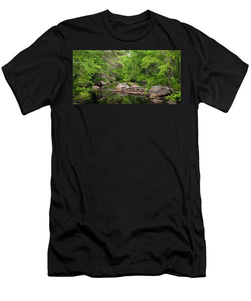 Isinglass River, Barrington, Nh Men's T-Shirt (Athletic Fit)