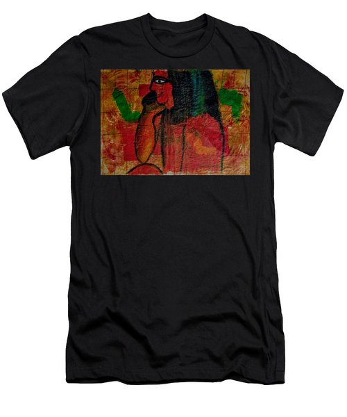 Isis, Egyption Queen Of Earth Men's T-Shirt (Athletic Fit)