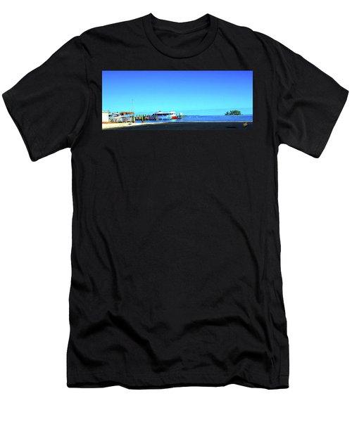Island Dock Men's T-Shirt (Athletic Fit)