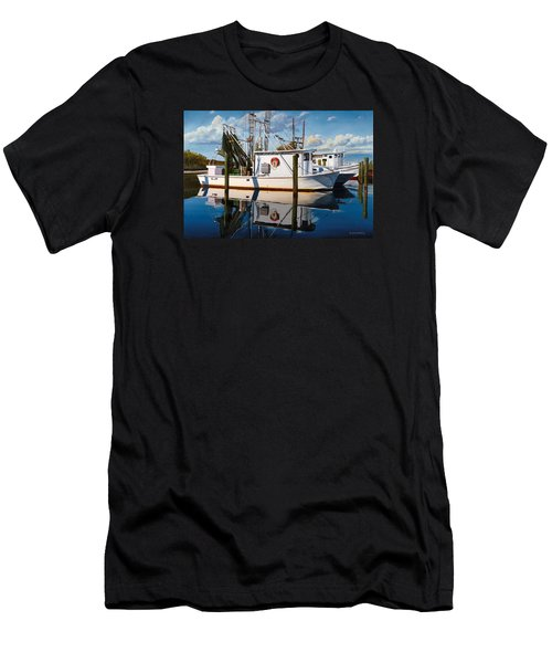 Men's T-Shirt (Slim Fit) featuring the painting Island Girl by Rick McKinney