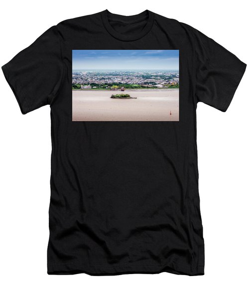Island In The River Men's T-Shirt (Athletic Fit)