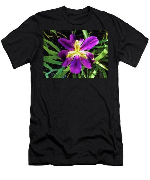 Island Iris 2 Men's T-Shirt (Athletic Fit)