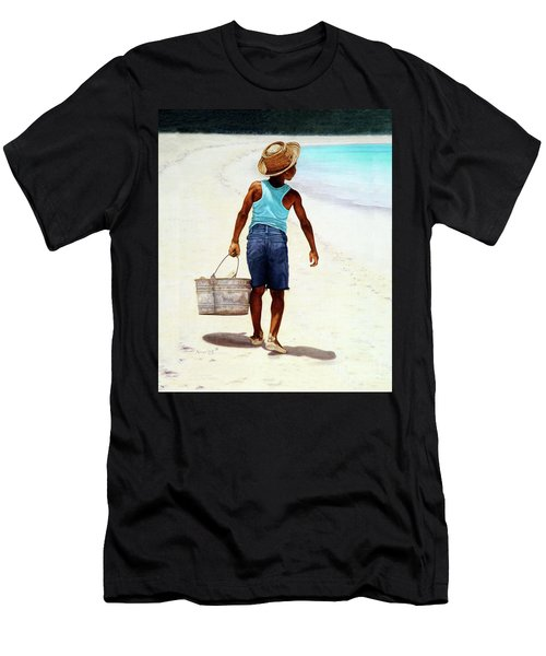Island Paradise Men's T-Shirt (Athletic Fit)