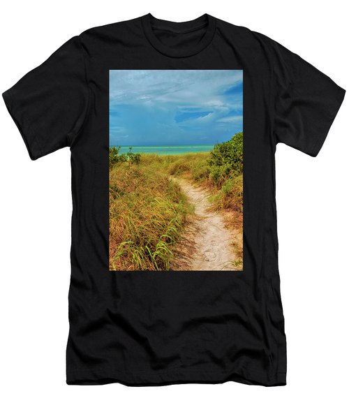 Island Path Men's T-Shirt (Athletic Fit)
