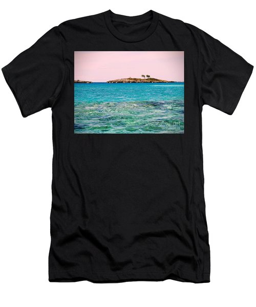 Island Tree Couple Men's T-Shirt (Athletic Fit)