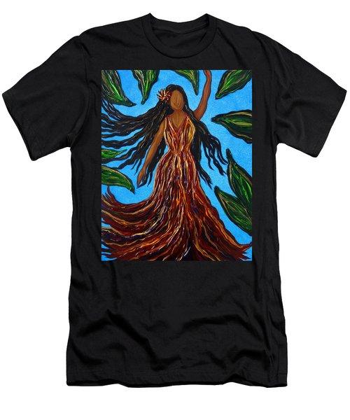 Island Woman Men's T-Shirt (Athletic Fit)