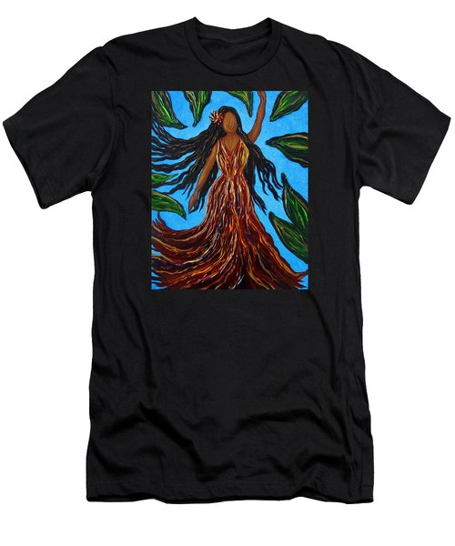 Island Woman Men's T-Shirt (Athletic Fit)