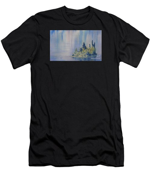 Isle Of Reflection Men's T-Shirt (Athletic Fit)
