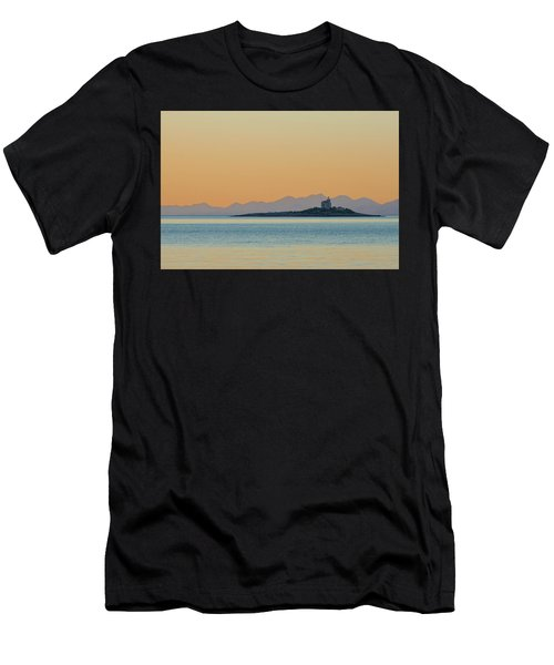 Men's T-Shirt (Athletic Fit) featuring the photograph Islet by Davor Zerjav