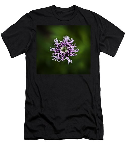 Isolated Flower Men's T-Shirt (Athletic Fit)