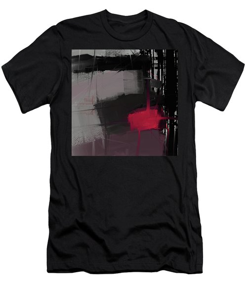 Men's T-Shirt (Athletic Fit) featuring the mixed media Isolation by Eduardo Tavares