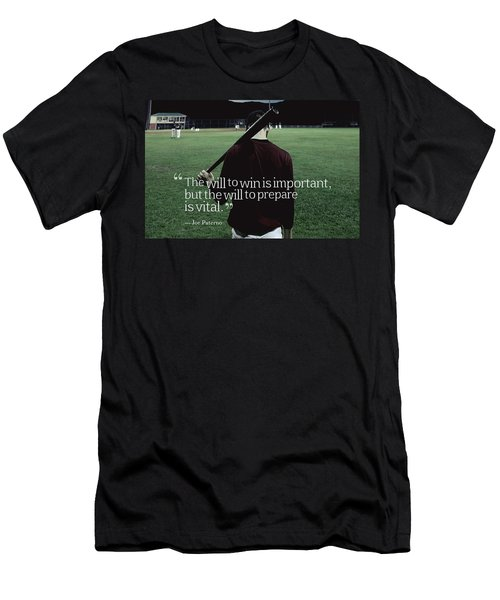 Ispirational Sports Quotes  Joe Paterno Men's T-Shirt (Athletic Fit)