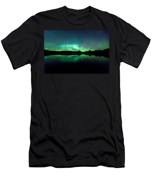 Iss Aurora Men's T-Shirt (Slim Fit) by Aaron Aldrich