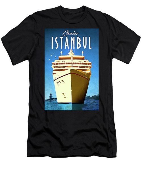 Istanbul Cruise, Turkey Men's T-Shirt (Athletic Fit)