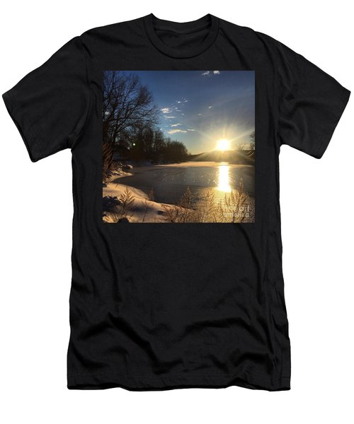 iSunset Men's T-Shirt (Slim Fit) by Jason Nicholas