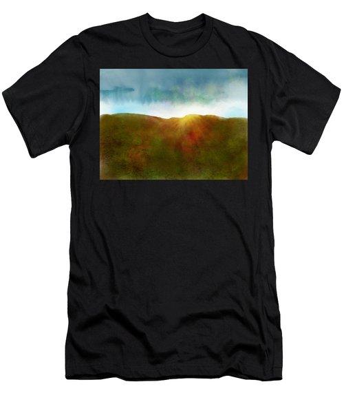 Men's T-Shirt (Athletic Fit) featuring the digital art It Began To Dawn by Antonio Romero