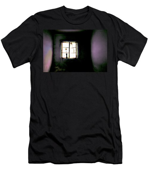 Men's T-Shirt (Slim Fit) featuring the photograph It Was Her Room... by Gray  Artus