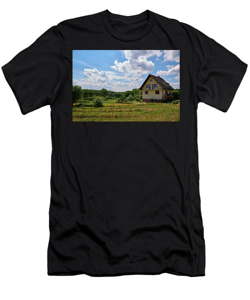 Men's T-Shirt (Athletic Fit) featuring the photograph It Would Be Nice by Tgchan