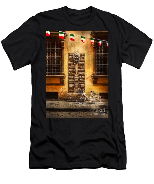 Italia Cential Bicycle Men's T-Shirt (Athletic Fit)