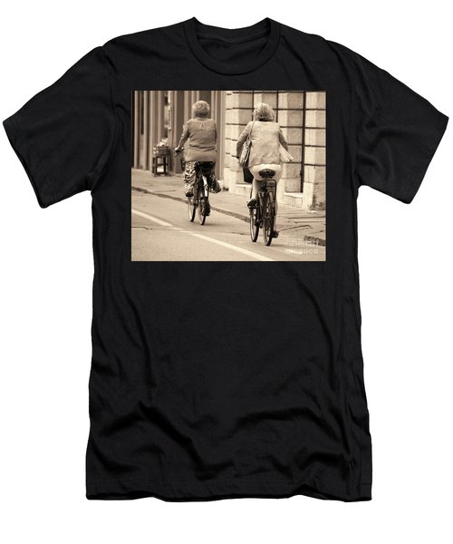 Men's T-Shirt (Athletic Fit) featuring the photograph Italian Lifestyle by Frank Stallone