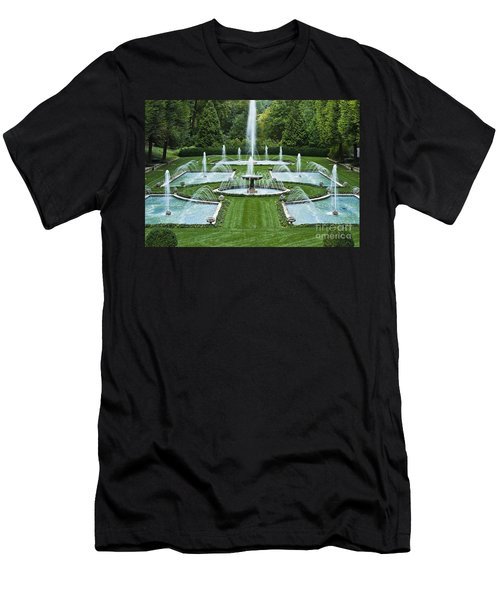 Italian Water Garden Men's T-Shirt (Athletic Fit)