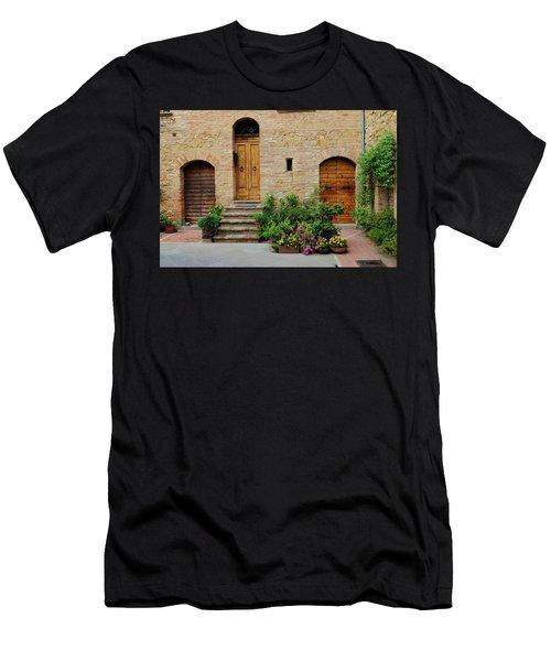 Italy - Door Eight Men's T-Shirt (Athletic Fit)