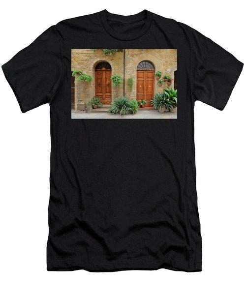 Italy - Door Seventeen Men's T-Shirt (Athletic Fit)